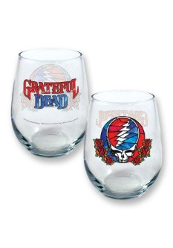 Grateful Dead Stained Glass Stealie 21oz Stemless Glass