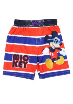 Mickey Mouse Boys Toddler Swim Shorts
