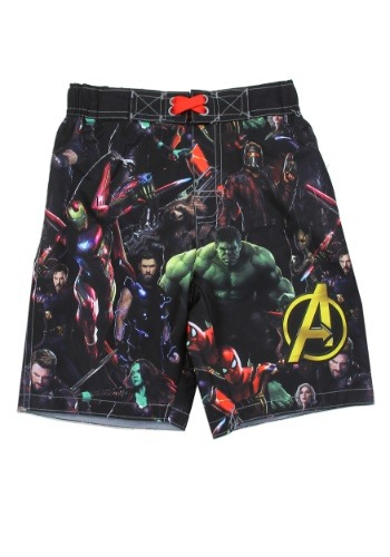 Avengers Infinity War Boys Swim Shorts