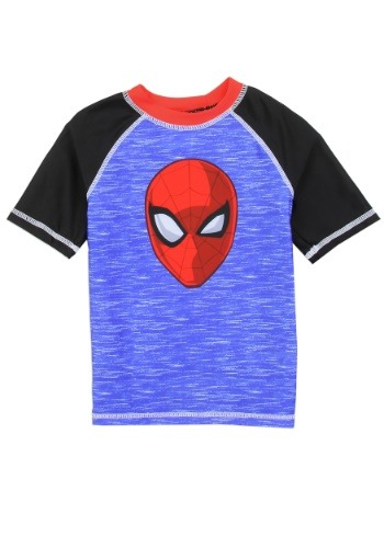 Spider-Man Boys Toddler Swim Rash Guard