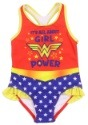 Wonder Woman Girls Toddler Swimsuit