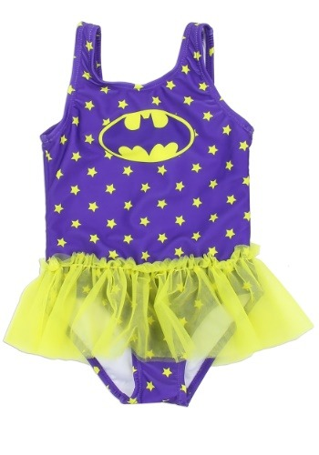 Batgirl Girls Toddler Swimsuit