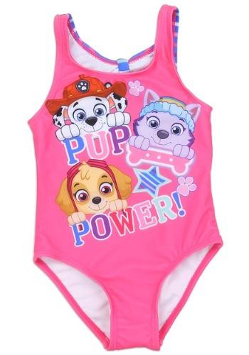 Paw Patrol Girls Toddler Swimsuit