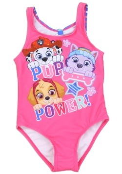 Paw Patrol Girls Toddler Swimsuit