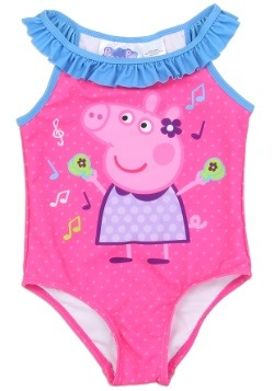 Peppa Pig Girls Toddler Swimsuit