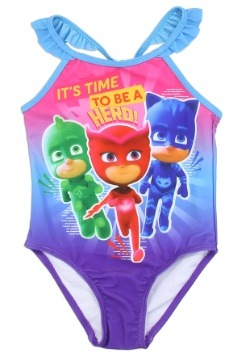 PJ Masks Girls Toddler Swimsuit