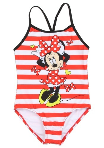 Minnie Mouse Girls Swimsuit