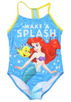 Girls Little Mermaid Ariel Swimsuit