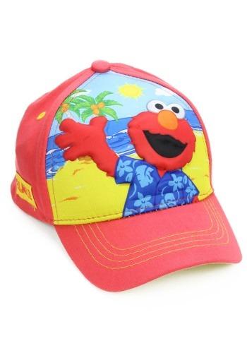 Elmo Boys Cap with 3D Pop design on front
