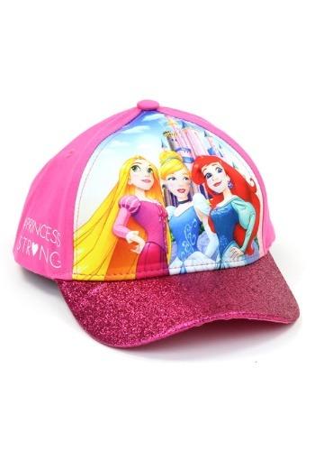Princess Girls Cap with 3D Pop Design