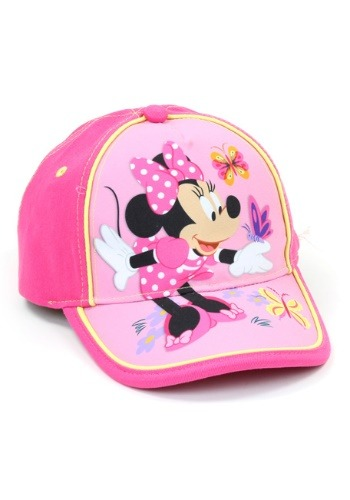 Minnie Mouse Girls Baseball Cap