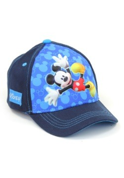 Mickey Mouse Boys Cap with 3D Pop Design