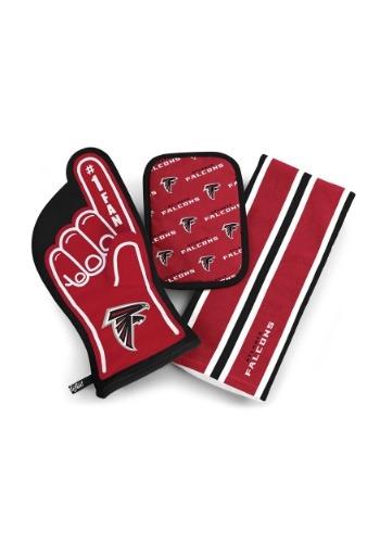 Atlanta Falcons #1 Oven Mitt 3-Piece Set