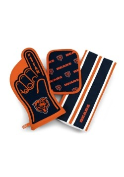 Chicago Bears #1 Oven Mitt 3-Piece Set