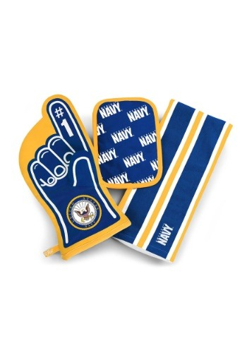US Navy #1 Oven Mitt 3-Piece Set