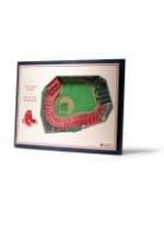 Boston Red Sox 5 Layer Stadiumviews 3D Wall Art