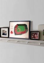 Boston Red Sox 5 Layer Stadiumviews 3D Wall Art 3