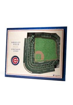 Chicago Cubs 5 Layer StadiumViews 3D Wall Art