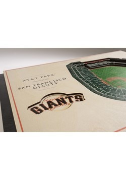 San Francisco Giants 5 Layer Stadiumviews 3D Wall  Alt 2