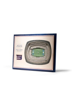 New York Giants 5 Layer StadiumViews 3D Wall Art