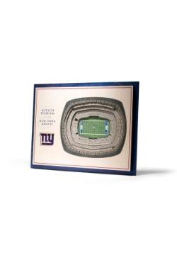New York Giants 5 Layer StadiumViews 3D Wall Art