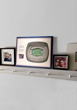 New York Giants 5 Layer StadiumViews 3D Wall Art2