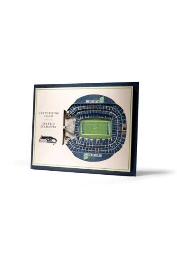 Seattle Seahawks 5 Layer Stadiumviews 3D Wall Art