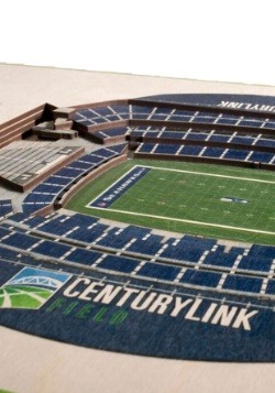 Seattle Seahawks 5 Layer Stadiumviews 3D Wall Art2