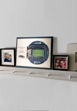 Seattle Seahawks 5 Layer Stadiumviews 3D Wall Art3