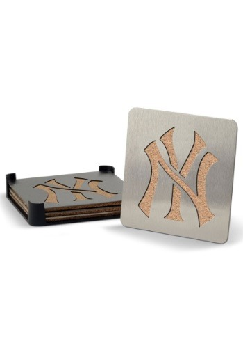 New York Yankees Boaster Coaster Set