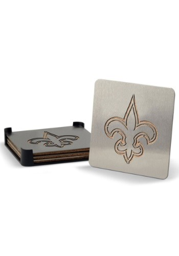 New Orleans Saints Boaster Coaster Set