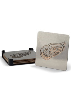 Detroit Red Wings Boaster Coaster Set