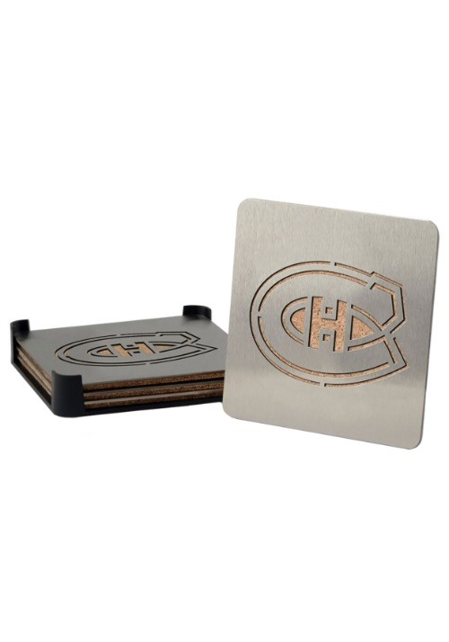 Montreal Canadiens Boaster Coaster Set