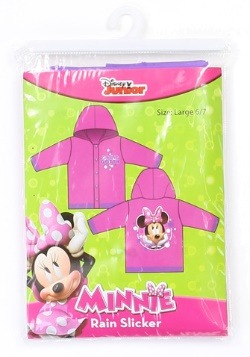 Minnie Mouse Girls Rain Slicker Alt 2