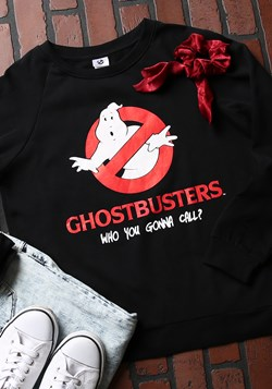 Ghost Busters Junior Ladies Sweatshirt
