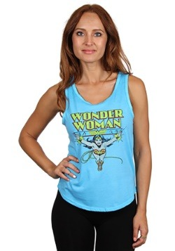Wonder Woman Junior Ladies Tank Top