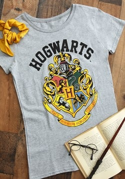 Harry Potter Hogwarts Crest Womens Tee