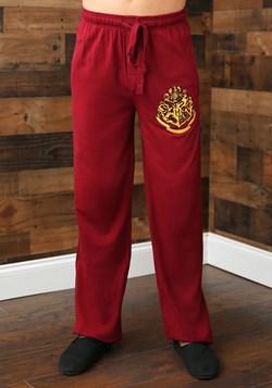 Harry Potter Hogwarts Crest Burgundy Sleep Pants