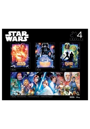 4-in-1 Star Wars Multipack Puzzle Collector's Edit