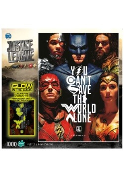 Justice League - You Can't Save the World Alone Puzzle