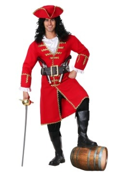 Captain Blackheart Pirate Mens Costume