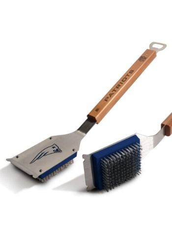 New England Patriots Grill Brush
