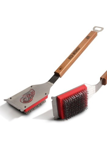 NHL Detroit Red Wings Grill Brush