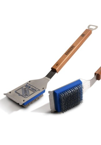 NHL New York Rangers Grill Brush
