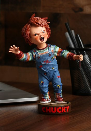 Chucky Head Knocker w/ Knife