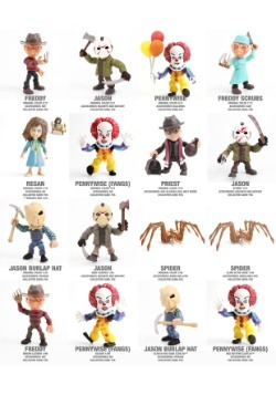 The Loyal Subjects Horror Figures Blindbox Wave 1
