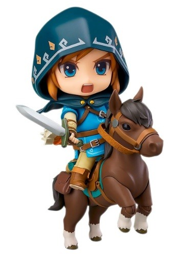 Nendoroid DLX Legend of Zelda: Breath of the Wild Link Fig.