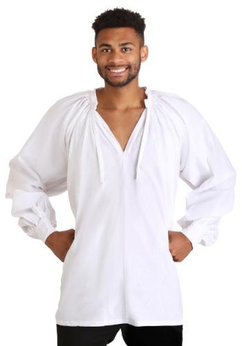 White Renaissance Peasant Shirt