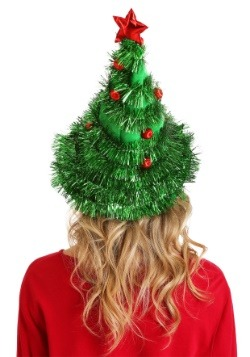 Christmas Tree Light-Up Hat Back