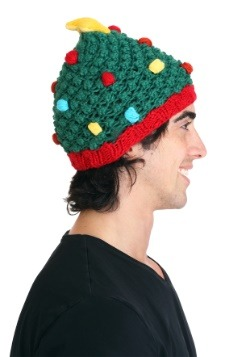 Christmas Tree Knit Hat